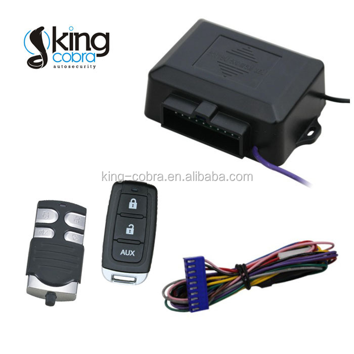 DC 12V Auto Smart Keyless Entry System with Window Rising Output and Trunk Release