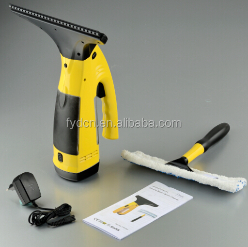 hand vacuum cleaner electrical/battery powered window glass vacuum cleaner