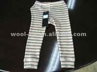 cashmere underwear long pants for baby