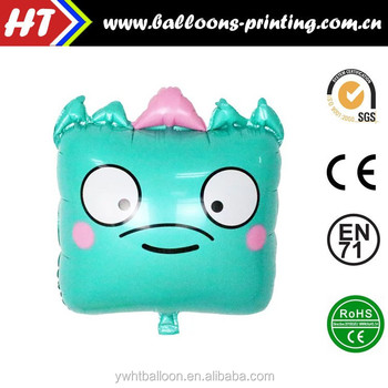 New Funny Face Emoji Balloon Heliun Foil Balloon Free Samples Provided
