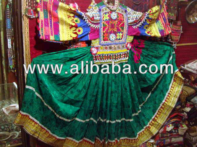 genuine afghan kuchi tribal afghan dress