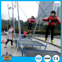 Amusement Equipment Rides Kids Funny Games Bungee Jumping For Sale