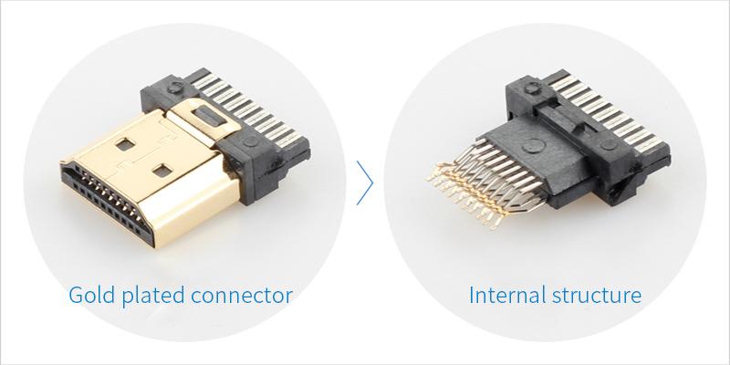 ULT-unite 1m 1.5m 2m 3m 5m 10m 4k Flat HDMI Cable HDMI Cord