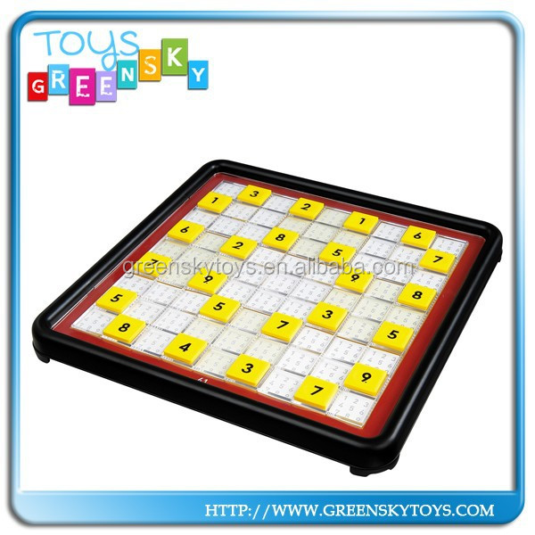 High Quality Sudoku Game Plastic Sudoku Game Machine For Kids