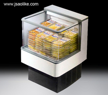 Mini island freezers chest refrigerator for supermarket & store with CE