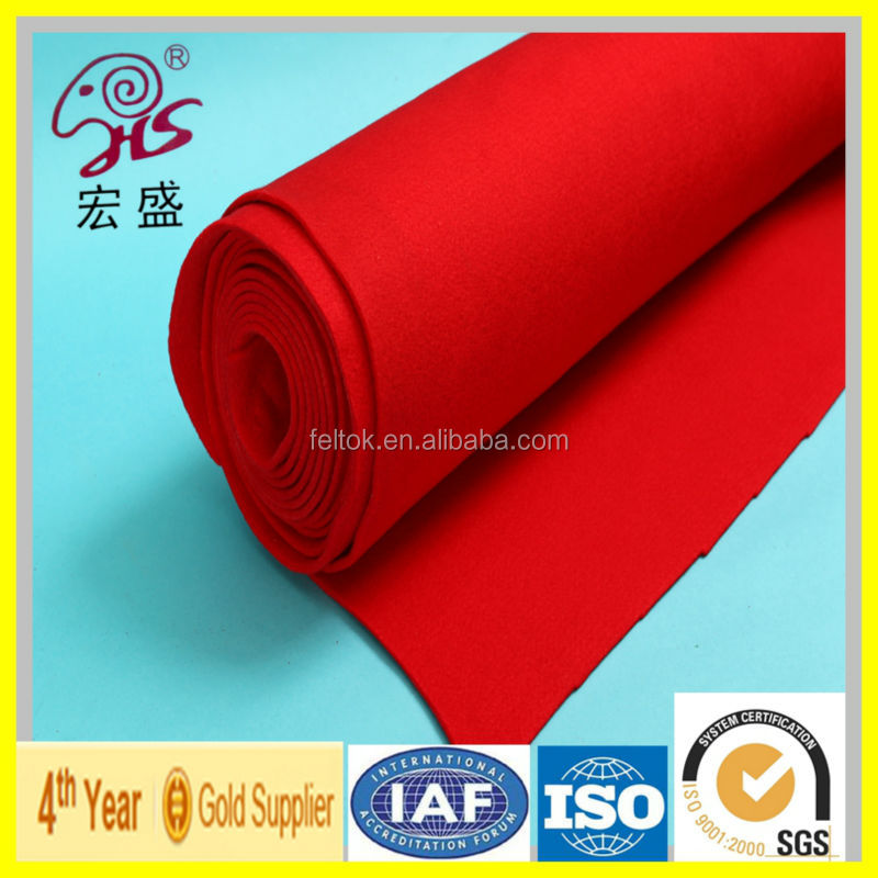 2016 new product Alibaba manufacturer wholesale polyester feeling self adhesive felt high quality