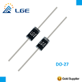 DO-27 3A silicon rectifier diode BY251(G) BY252(G) BY253(G) BY254(G) BY255(G)