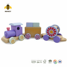 Kids Intelligent Educational Toys Transport wooden toy train