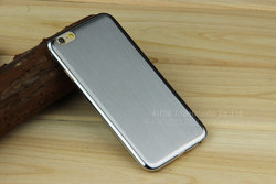metal/aluminum cellphone case for iphone6 brushed cover