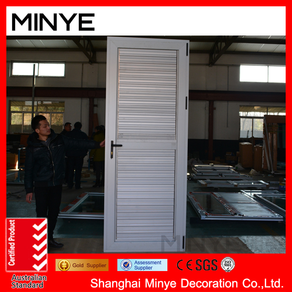 thermal break aluminum adjust swinging shutter doors