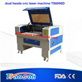 Cheap dual head co2 cnc laser machine TS6090D