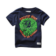 OEM promotion design round neck 100% cotton t shirts for boys