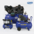 Factory cheap price 50L 2hp mobile piston silent air compressor