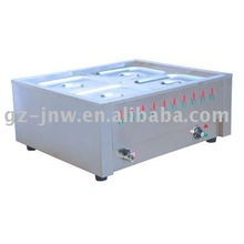 2 burners electrical desktop Bain Marie with flower pictures LC-HNTC-2(1/2) for commercial kitchen equipment passed ISO9001