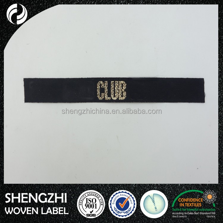 handmade exquisite name brand patch, embroidery pearl neckline designs, woven labels for flame retardant patch