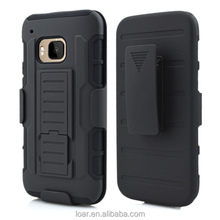 For HTC One M9 COMBO Belt Clip Holster Case Kick mobile Phone Stand Cover