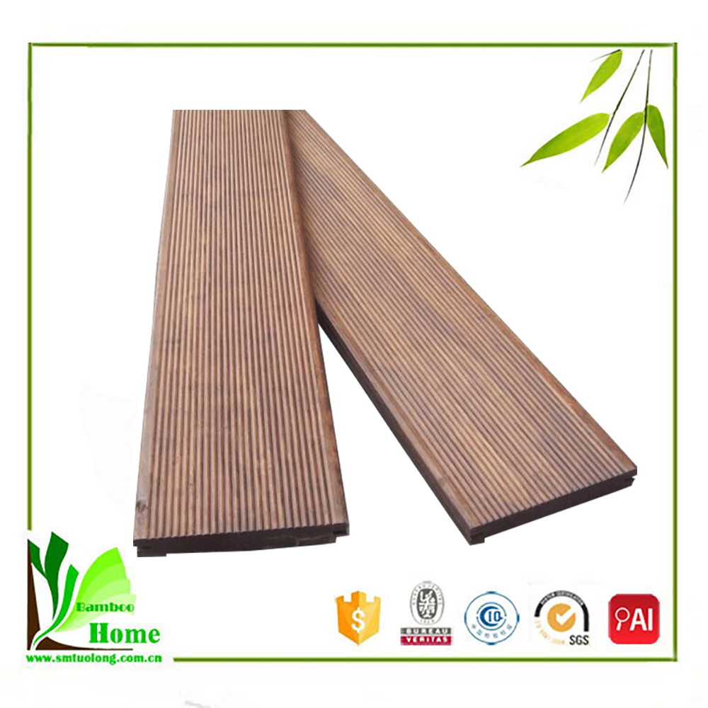 Universal high quality grey color strand bamboo flooring