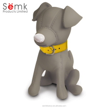 Plastic PVC resin material doggie puppy money box coin saving bank