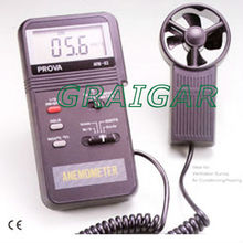 Digital Anemometer Air Flow Meter AVM-03(0.0-45m/s) ~Free Shipping~