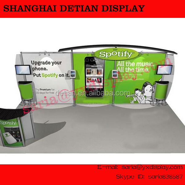 modular 10 X 20 trade show exhibition stands