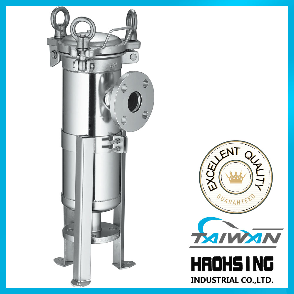 high pressure bag filter cost 316L stainless filter bag housing