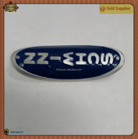 Bending Car Emblem Motorcycle Emblem Badge