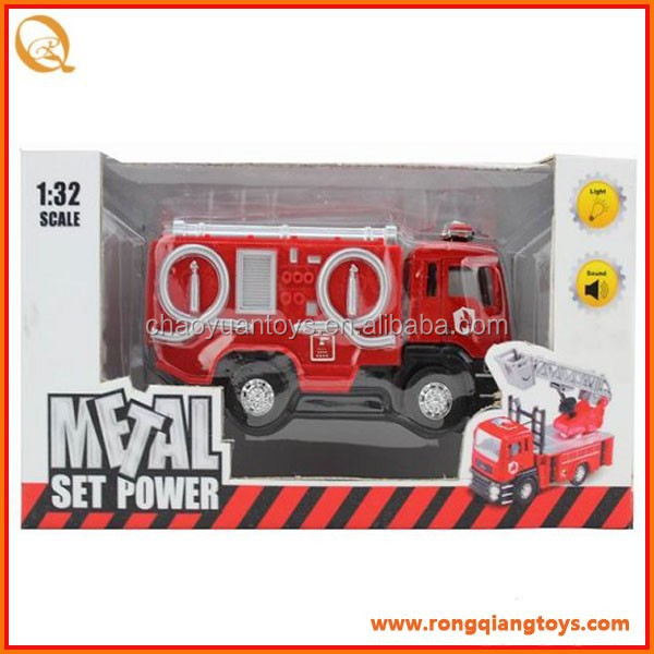 <strong>1</strong>:32 Scale Diecast pull back fire engine,<strong>w</strong>/light and music PB8951036-B