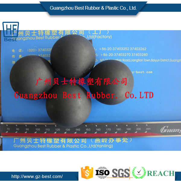 Customized Colorful Viton /NBR/ Nitrile Soft Rubber Coated Steel Ball Bearing