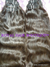 single drawn and double drawn Indian Human Hair Wholesale
