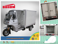 Dohom 150cc semi cabin 3 wheel moto taxi/passenger tricycle