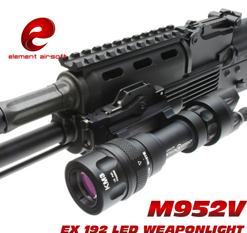 EX 192 Element Tactical light SF M952V LED Flashlight Weapon Lights tactical flashlight