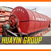 Rubbish Treatment To Furnace Oil Rubber Recycling Machinery