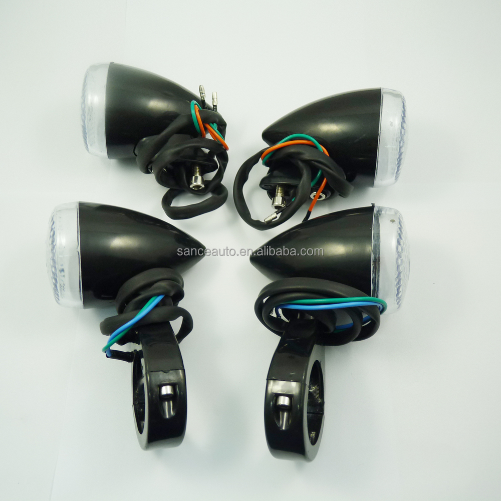 100 % New 20 LED 0.5W Motorcycle Indicator Turn Signal Lights for Harley Chopper Good Quality OEM