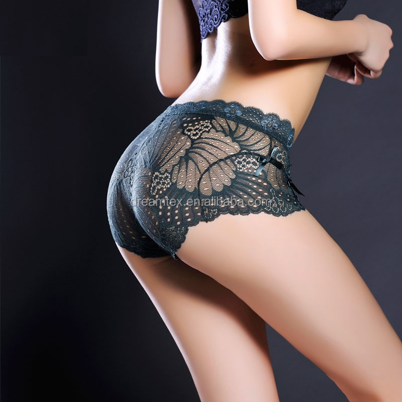 Custom design seamless sexy mature women ladies underwear