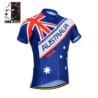 Hot Selling Custom Polyester Men's Cycling Jersey with Pocket