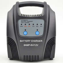 6A Car battery charger 12V MF motorcycle lead acid battery charger 12V batteries