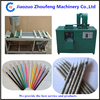 newspaper pencil making machine/eco-friendly paper pencil production line (skype:wendyzf1)