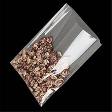 100pcs Clear Flat Cello/Cellophane Treat Bag Gusset Style Crisp Crystal 2 Mil Bag Good for Snacks Bakery Cookie