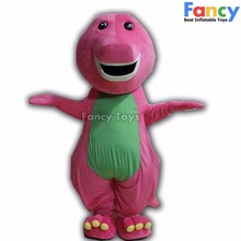 Factory direct sale customized barney dragon mascot costume 080