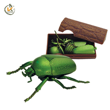 3D PVC Plastic Beetle Insect Toy for Kids Gifts