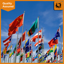 Most worthy advertising flag,usa/China flag printing with customized
