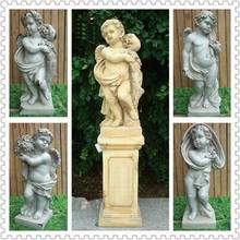 marble statue,31''four seasons god marble statue