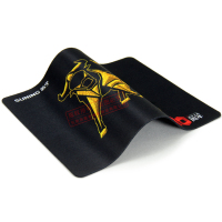 Anti-slip natural rubber foam mousepads, mouse pad with rubber sheet backing, can be customized printing image