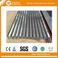 Stainless steel decorative materials corrugated steel roof plate color coated metal roof