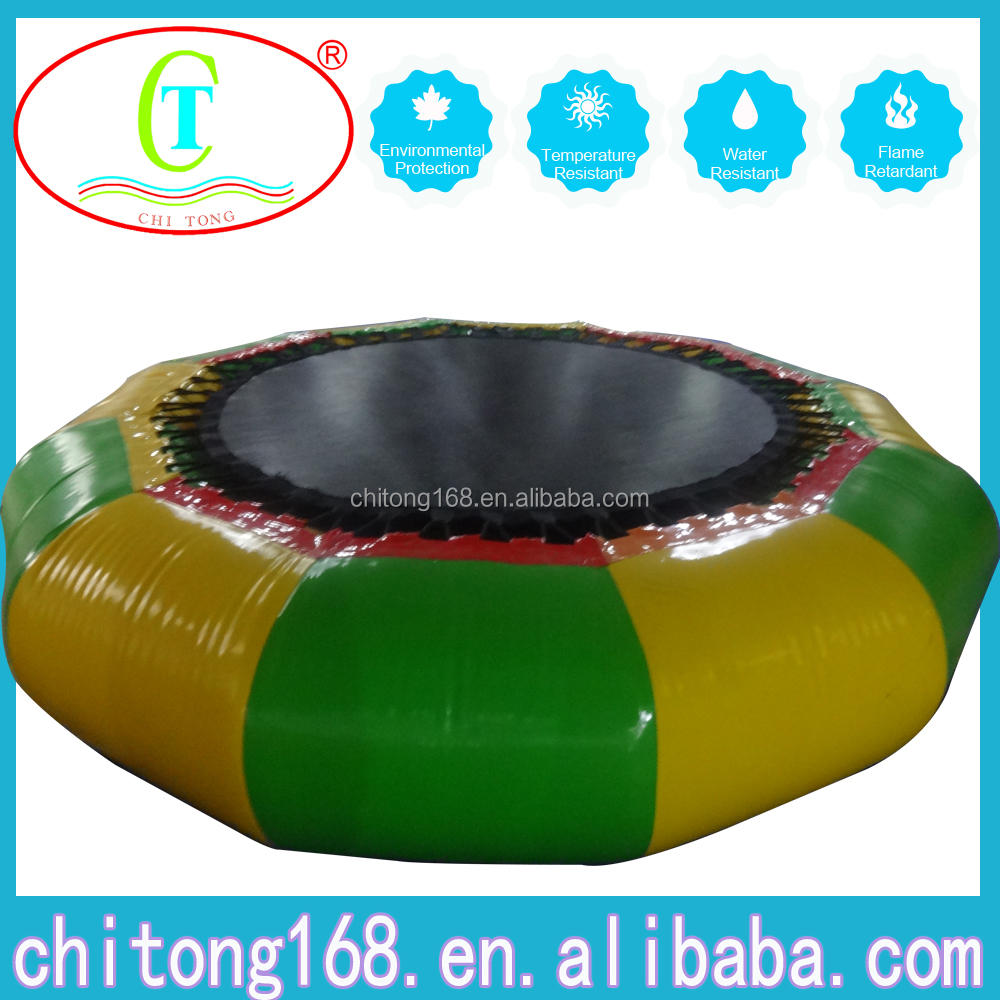 Inflatable Water Sport/ Aqua Trampoline, Exciting Jumping Trampoline