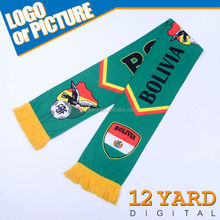 Hot sale sports scarves/ new fashion shawls for fans