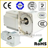Nissie like right angled rectangular AC Hypoid gear motor