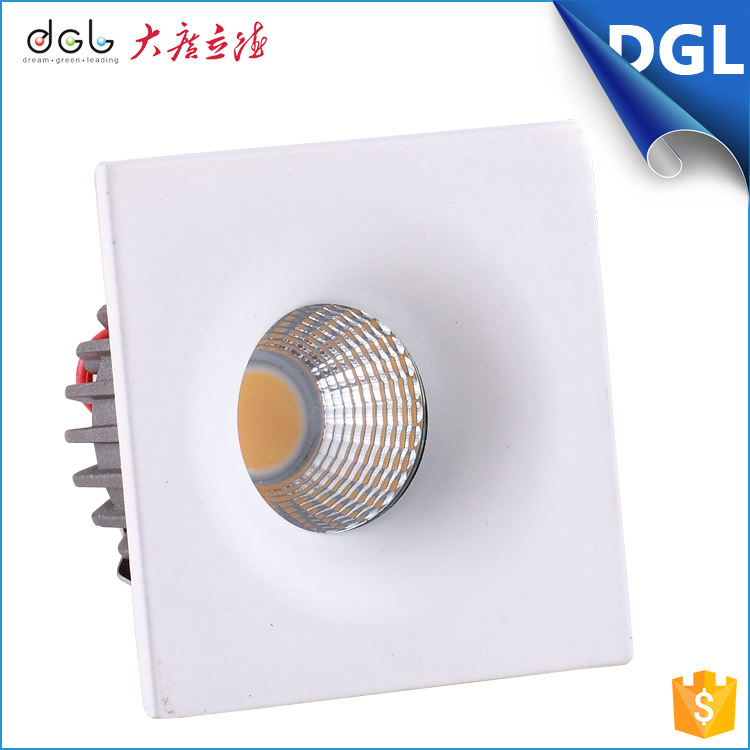 Professional OEM/ODM Manufacturer surface mount square cob 3w led downlight retrofit