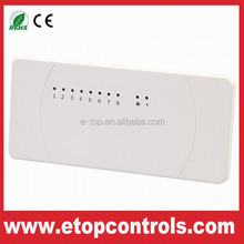 Multi-zone Central Control Wireless Heating Thermostat Receiver