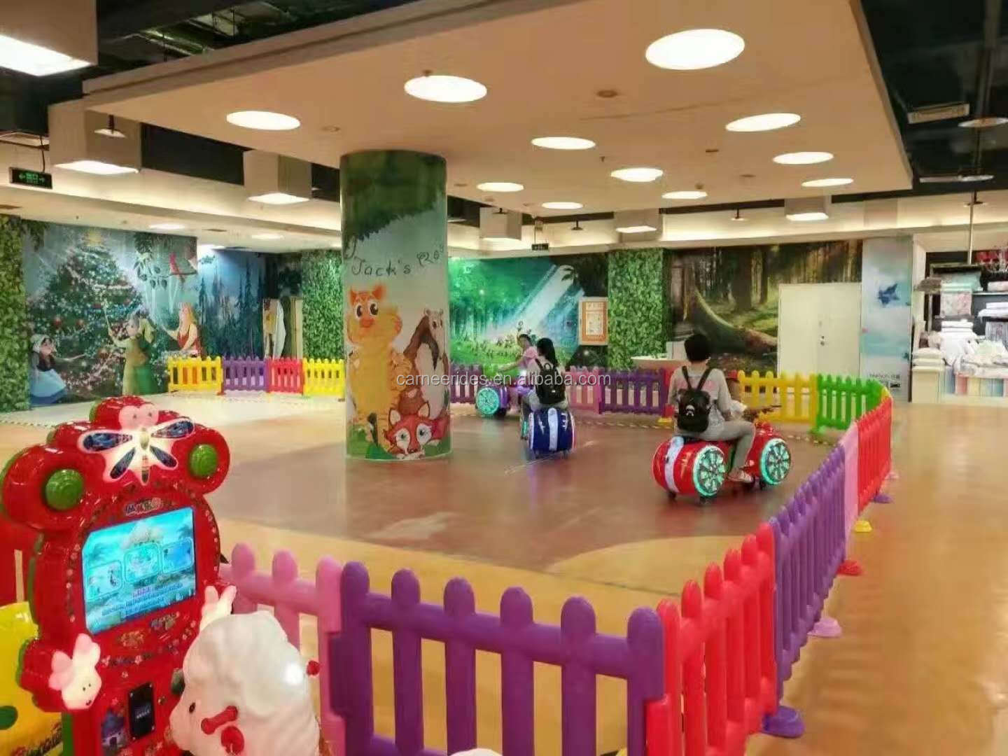 Shopping Malls Funny Children Games Battery Operated Kids Motorcycle Rides